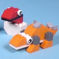 Динозавры из Лего